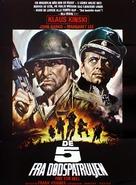 5 per l'inferno - Danish Movie Poster (xs thumbnail)