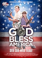 God Bless America - Finnish Movie Poster (xs thumbnail)