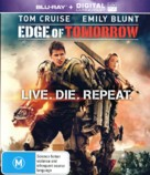 Live Die Repeat: Edge of Tomorrow - Australian Movie Cover (xs thumbnail)