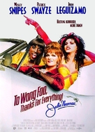 To Wong Foo - German Movie Poster (xs thumbnail)