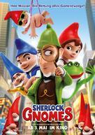 Sherlock Gnomes - German Movie Poster (xs thumbnail)