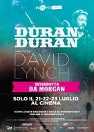 Duran Duran: Unstaged - Italian Movie Poster (xs thumbnail)