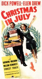 Christmas in July - Theatrical poster (xs thumbnail)
