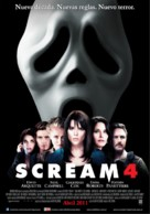 Scream 4 - Argentinian Movie Poster (xs thumbnail)