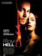 From Hell - French Movie Poster (xs thumbnail)