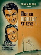 It's a Wonderful Life - Danish Movie Poster (xs thumbnail)