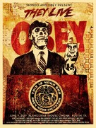 They Live - Homage movie poster (xs thumbnail)