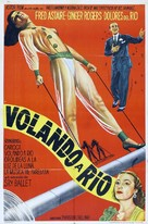 Flying Down to Rio - Argentinian Movie Poster (xs thumbnail)