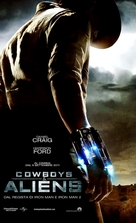 Cowboys & Aliens - Italian Movie Poster (xs thumbnail)