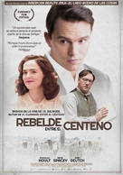 Rebel in the Rye - Spanish Movie Poster (xs thumbnail)