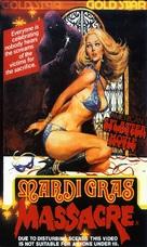 Mardi Gras Massacre - Australian VHS cover (xs thumbnail)