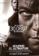 The Bourne Ultimatum - Argentinian poster (xs thumbnail)