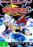 """Bakuten shoot beyblade"" - Australian DVD movie cover (xs thumbnail)"