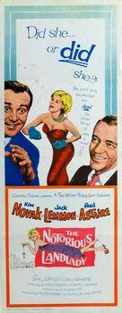 The Notorious Landlady - Movie Poster (xs thumbnail)