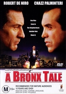 A Bronx Tale - Australian DVD movie cover (xs thumbnail)