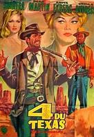 4 for Texas - French Movie Poster (xs thumbnail)