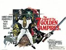 The Legend of the 7 Golden Vampires - British Movie Poster (xs thumbnail)