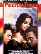 Il futuro è donna - French Movie Poster (xs thumbnail)
