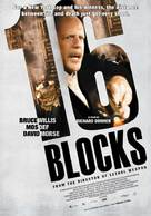 16 Blocks - Norwegian Movie Poster (xs thumbnail)