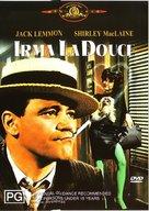 Irma la Douce - Australian DVD movie cover (xs thumbnail)