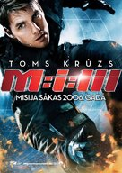 Mission: Impossible III - Latvian Movie Poster (xs thumbnail)