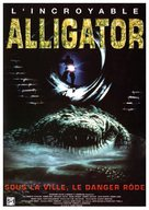 Alligator - French DVD movie cover (xs thumbnail)