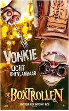 The Boxtrolls - Dutch Movie Poster (xs thumbnail)