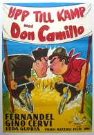 Don Camillo e l'onorevole Peppone - Swedish Movie Poster (xs thumbnail)