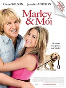 Marley & Me - French Movie Poster (xs thumbnail)