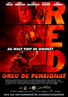RED - Romanian Movie Poster (xs thumbnail)