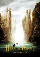 The Lord of the Rings: The Fellowship of the Ring - German Movie Poster (xs thumbnail)