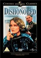 Dishonored - British DVD cover (xs thumbnail)