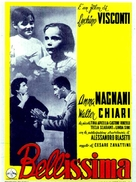 Bellissima - Italian Movie Poster (xs thumbnail)