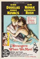 Strangers When We Meet - Australian Movie Poster (xs thumbnail)