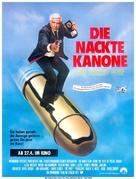 The Naked Gun - German Movie Poster (xs thumbnail)