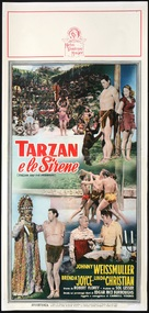 Tarzan and the Mermaids - Italian Movie Poster (xs thumbnail)