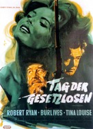 Day of the Outlaw - German Movie Poster (xs thumbnail)