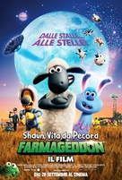 A Shaun the Sheep Movie: Farmageddon - Italian Movie Poster (xs thumbnail)