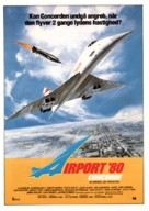 The Concorde: Airport '79 - Danish Movie Poster (xs thumbnail)