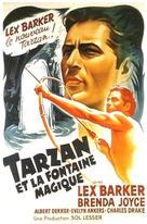 Tarzan's Magic Fountain - French Movie Poster (xs thumbnail)