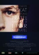The Social Network - Czech Movie Poster (xs thumbnail)