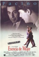 Scent of a Woman - Spanish Movie Poster (xs thumbnail)
