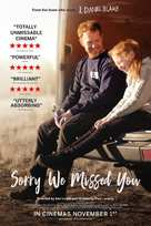 Sorry We Missed You - British Movie Poster (xs thumbnail)