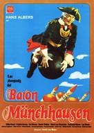 Münchhausen - Spanish Movie Poster (xs thumbnail)