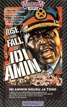 Rise and Fall of Idi Amin - Finnish VHS movie cover (xs thumbnail)