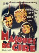 Mystery of the Wax Museum - French Movie Poster (xs thumbnail)