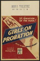 Girls on Probation - Theatrical movie poster (xs thumbnail)