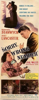 Sorry, Wrong Number - Italian Movie Poster (xs thumbnail)