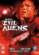 Evil Aliens - British DVD cover (xs thumbnail)