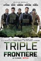 Triple Frontier - French Movie Poster (xs thumbnail)